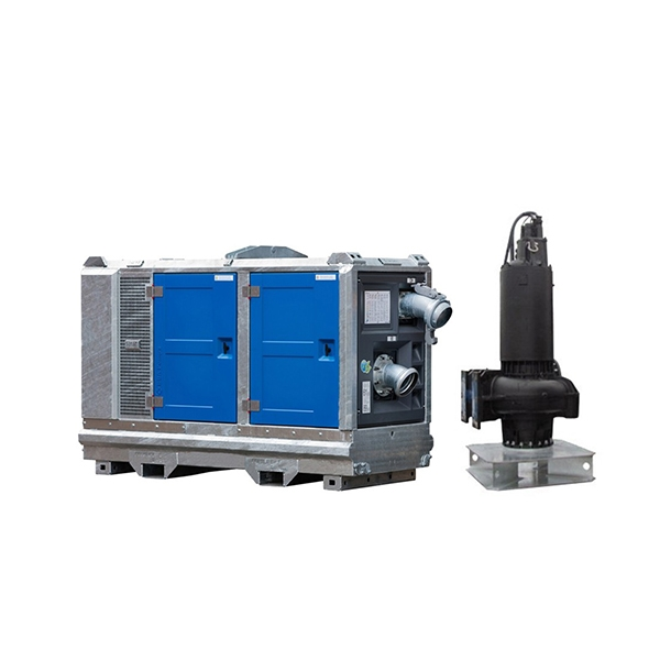 Sewage and waste water pumps